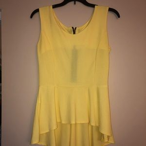 Tops - Yellow Top